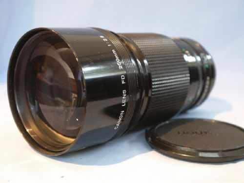 Lens 200mm Canon Canon fd a 200mm F2.8 Lens For